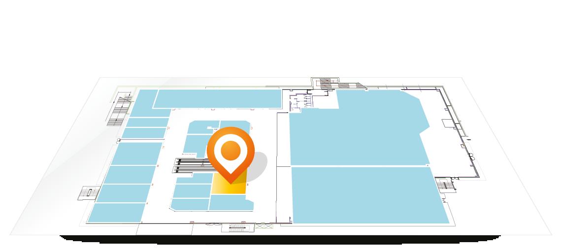 Siamo presenti nell'area 20 del Centro Commerciale Arcobaleno